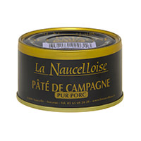 Can of farmhouse pâté 125 gr