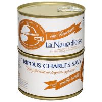 Set of 2 cans of Charles Savy tripous 410g